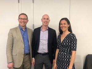 Dr. David Brendel, Stefan Kalt, and Emmie Stammel